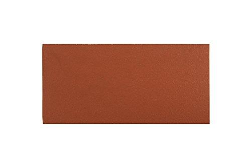 fliesenmax Spaltfliese Bodenfliese Spaltplatte uni rot 12x24cm Uni Farben - Rot Bodenfliesen