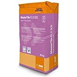 BASF Mortero Impermeable de rejunteo para Piscinas Mastertile FLX 500 5 Kg. Color Blanco