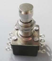 Göldo ELF4P Casing Foot Switch 4Pin, 8Pin/Made in Italy