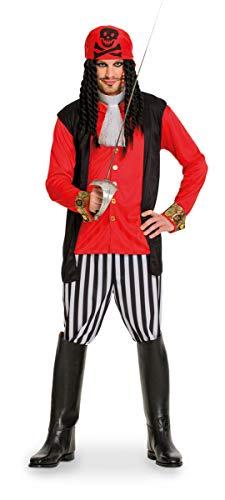 Folat 63357 Komplettset: Kostüm Herren Pirat Freibeuter Störtebeker ()