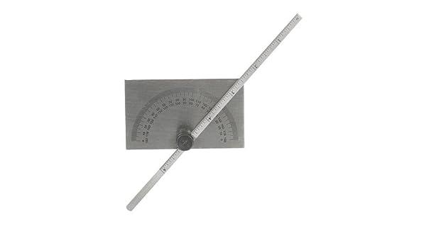 Rapporteur avec Jauge profondeur échelle 150 mm Convient pour mesure angulaire