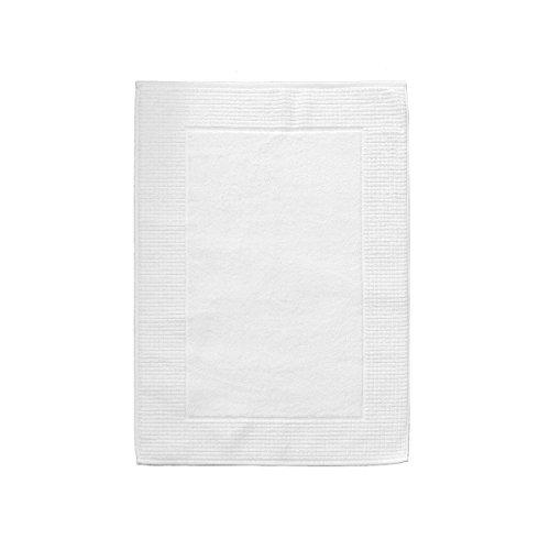 Tappeto bagno spugna 1000 gr/mq zucchi solotuo - dimensione varie r206 50x80 cm bianco
