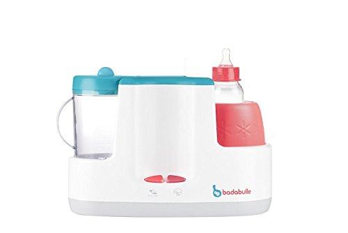 Badabulle Baby Station 4-in-1 Babynahrungszubereiter, Dampfgaren, Mixen, Erwärmen von Fläschchen und Babybrei, Auftauen - 6