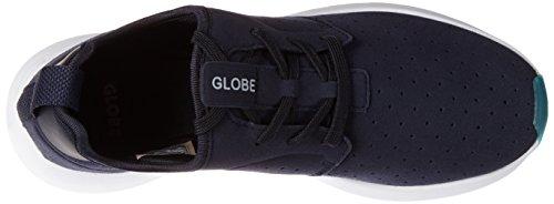 Globe Dart Lyt, Pantoufles Homme Bleu (navire / Blanc)