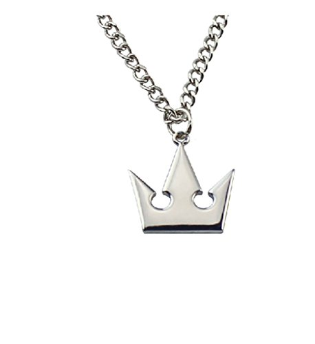 Kingdom Hearts Crown & Roxas Cross Kette Sora Halskette Anhänger