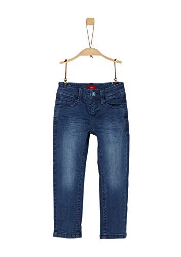 s.Oliver Jungen 64.909.71.3354 Jeans, Blau (Blue Denim Stretch 57z2), 110 (Herstellergröße: 110/REG)