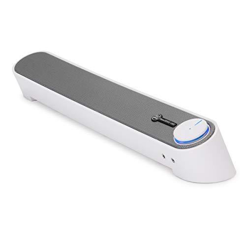 GOgroove Altavoz Barra de Sonido con Micrófono/Altavoz Kit de Sonido para PC,...