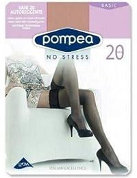 Pompea Collant 8 denari Donna in 2 colori dalla 1//2 S alla XL WH