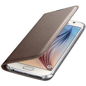 Helix Leather Flip Cover For Oppo Neo 7 GOLD
