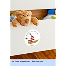Fun & Interactive 'Row Row Row Your Boat' Nursery Rhyme Themed Stickers Which Come To Life