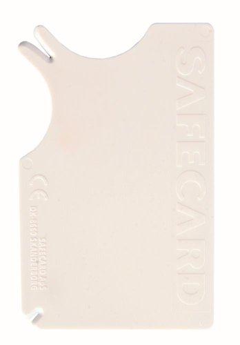 Artikelbild: Trixie Safecard Zeckenentferner für Haustiere, 8x 5cm, weiß, 1Stück