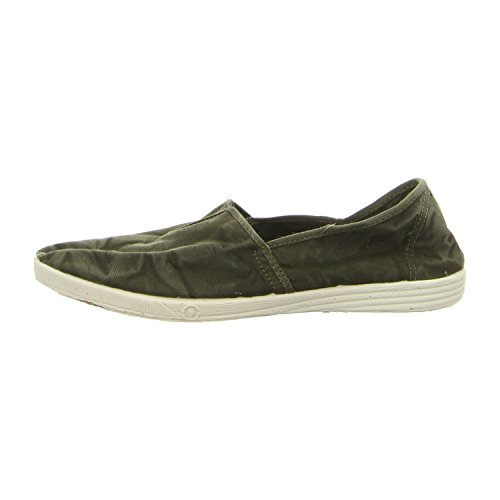 Natural World 305E/623 hommes Mocassins, Vert - Vert
