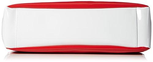 Armani - C522fu2, Borsa a tracolla Donna Rosso (Rot (ROSSO - RED 4Q))
