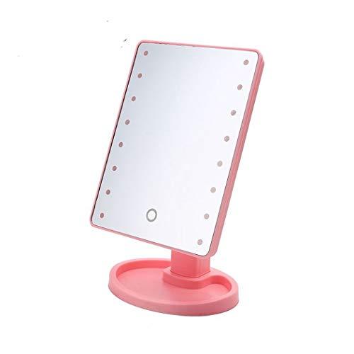 LEDHZJYLW Led Schminkspiegel Touchscreen Mit Licht 16 Led-Leuchten Bilden Beleuchteten...