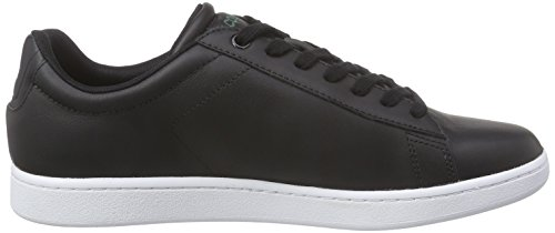 Lacoste Carnaby Evo LCR, Baskets Basses Homme Noir - Black (024-Black)