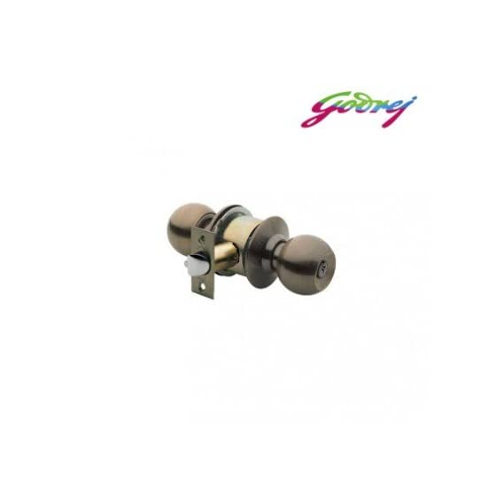 Godrej Cylindrical Lock Keyless (Antique Brass)