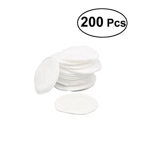 frcolor 200pezzi wattepads cotone rotonda Pads per Struccante Viso microfibra
