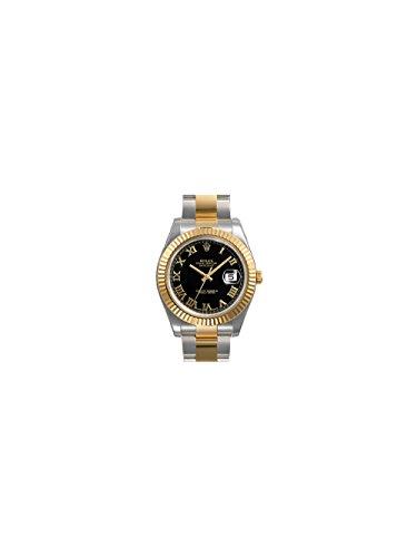 rolex-datejust-ii-black-roman-dial-18k-yellow-gold-fluted-bezel-two-tone-oyster-bracelet-mens-watch-