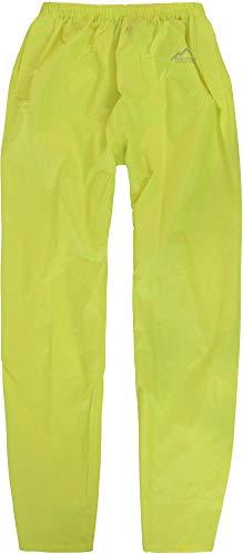 normani Unisex Erwachsene Regenhose, 100% wasserdichte Überhose Farbe Gelb Größe 4XL