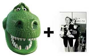 Rex Karte Partei Gesichtsmasken (Maske) (Toy Story) - Enthält 6X4 (15X10Cm) starfoto