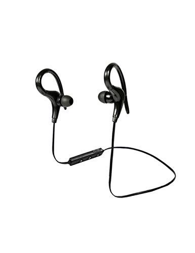 HPYS Sport Kopfhörer Hand Free Wireless Bluetooth Headset Kopfhörer Sport In-Ear-Kopfhörer für Smartphone Black Wireless Hands Free-headset