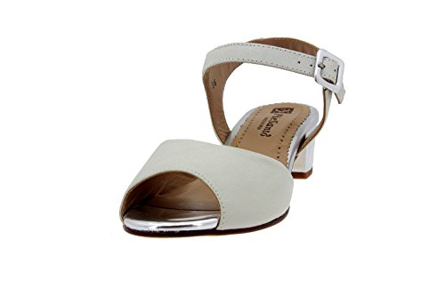 Scarpe donna comfort pelle Piesanto 4475 sandali casual comfort larghezza speciale Hielo