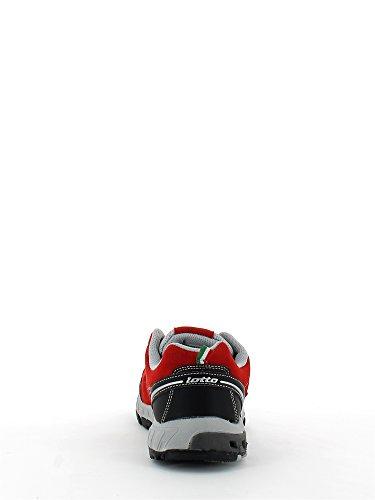 Lotto R2969 Scarpa ginnica Uomo Rosso
