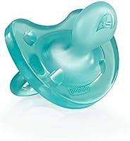 Chicco Physio Soft Chupetes para Bebés de 0 a 6 Meses, 100% Silicona Suave y Delicada que Imita el Pecho Mater