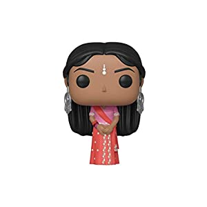 Funko- Pop Figura De Vinil Harry Potter-Padma Patil (Yule) Coleccionable, Multicolor (42845)