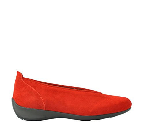 Wolky  BALLET, Mocassins pour femme 450 red suede