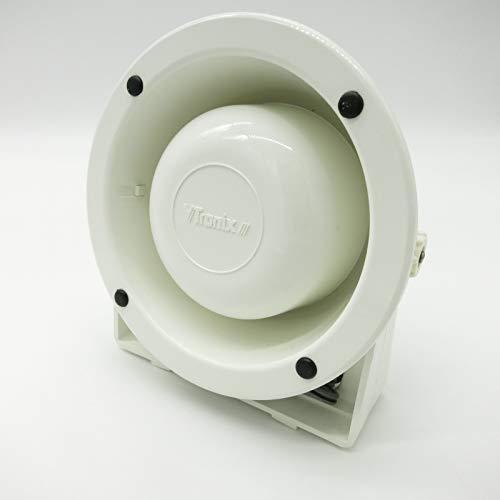 CAGO V Tronix Wetterfester Außen Lautsprecher WS200P weiß 4 8 Ohm 5 Watt korrosionsbeständig Montagebügel