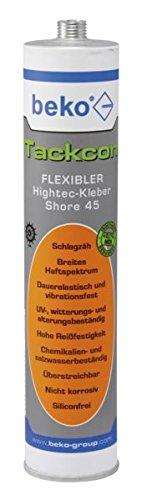 elektro kleber Beko Tackcon Hightec-Kleber 310 ml GRAU Shore 45