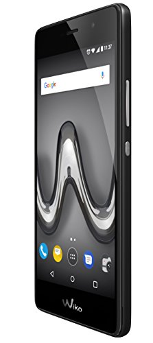 "Wiko Tommy2 Dual SIM 4G 8GB Black - Smartphones (12.7 cm (5""), 8 GB, 8 MP, Android, 7.1, Black)"
