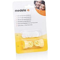 Medela Kit Valves & Membranes pour Tire - Lait (2 Valves et 6 Membranes)