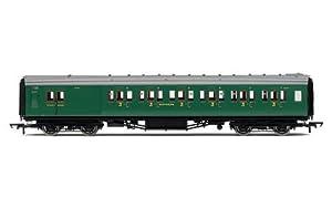 Hornby R4736SR Maunsell 6Compartimento Freno de Tercera Clase Entrenador Tren Modelo Set
