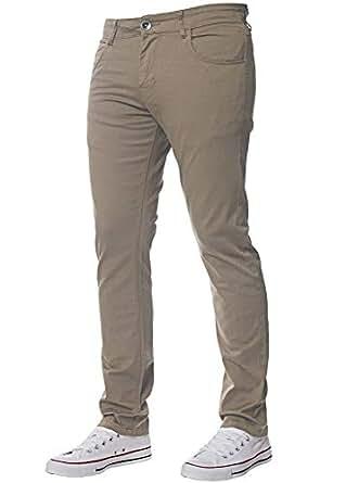 Étroite Pour Coupe Et Skinny Pantalon Chinos Extensible Kruze Hommes n0wN8m