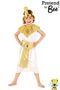 Filles Eqyptian reine Cléopâtre Costume de déguisement 3-5 ans [Jouet]