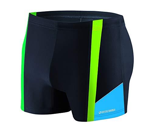 1aa2573a5f0a47 Sesto Senso® Herren Badehose Swimmhose (Größen von M bis 4XL) Bademode  Swimming Shorts