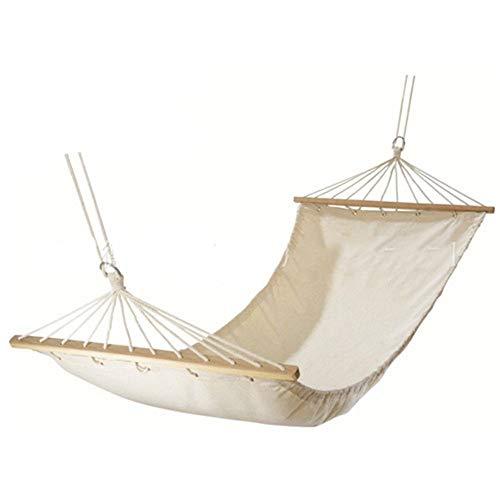 pel Hängematte - Zwei-Personen-Bett für Hinterhof, Veranda, Außen- und Innenbereich - Weicher Baumwollstoff für höchsten Komfort ()