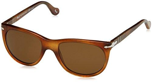 Persol Damen 0Po3097S 101857 51 Sonnenbrille, Braun (Spped Havana/Polarbrown)