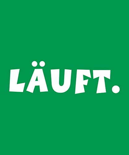 -- läuft -- Boys T-Shirt Kelly Green