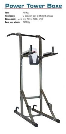HIGH POWER Panca Fitness HPBOXPOWERTOWE2 Acciaio