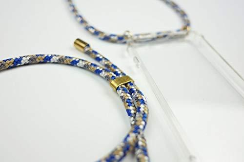 KNOK case Handykette Necklace Handyhülle mit Band für Samsung S9 Plus - Handy-Kette Handy Hülle mit Kordel Umhängen -Handy Halsband Lanyard Case/Handy Band Halsband