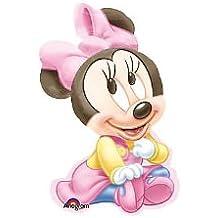 ANAGRAM - Globo Minnie Bebe Figura, Color Rosa, Talla 70 cm