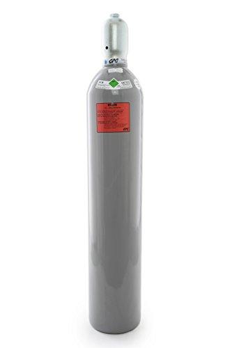 20 kg Kohlensäure Flasche / CO2 Flasche / mit Steigrohr / Gasflasche (Eigentumsflasche) gefüllt mit Kohlensäure(CO2) / Lebensmittelqualität nach E290 / kurze Bauform / NEUE Eigentumsflasche / 10 Jahre TÜV ab Herstelldatum / made in EU