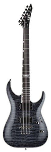 LTD 312608 MH-1001 NT see through E-Gitarre schwarz (Esp Ltd Gitarre)