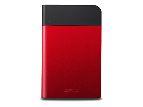 Buffalo HD-PZF1.0U3R-EU MiniStation Extreme externe Festplatte 1TB (6,4 cm (2,5 Zoll), USB 3.0) rot