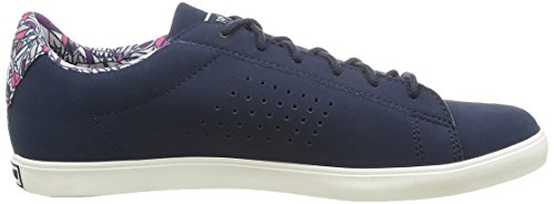 Le Coq Sportif Agate Lo Feathers, Baskets Basses Femme Bleu (Dress Blue)