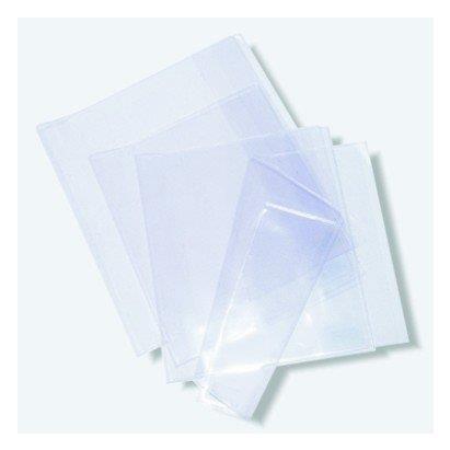 Herma 14265 Buchumschlag Basic, Größe 265 x 540 mm, Kunststoff transparent, 1 Buchschoner für Schulbücher