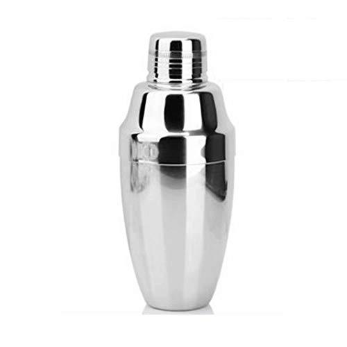 GL-bar Mini Metal Cocktail Shaker, 350 ml - Edelstahl gebürstet -